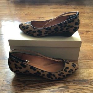 Madewell Leopard Mini Wedge Shoe